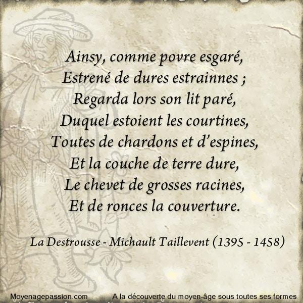 michault_taillevent_poesie_medievale_la_destrousse_moyen-age_tardif_XVe