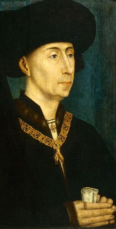 portrait_philippe_III_bourgogne_le_bon_Portrait_Rogier_Van_Der_Weyden_XV_moyen-age_tardif