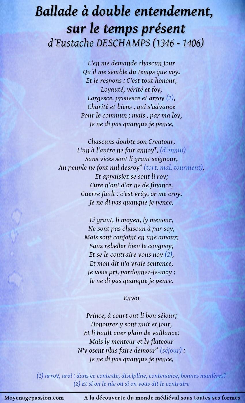eustache_deschamps_poesie_satirique_morale_moyen-age_ballade_litterature_medievale_XIVe_siecle