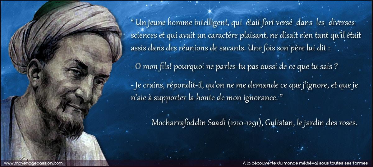 sagesse_persane_conte_poesie_morale_citations_Mocharrafoddin_Saadi_moyen-age_central