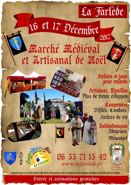 agenda_fêtes_marche_medieval_noel_animation_compagnies_moyen-age_La_Farlede_var