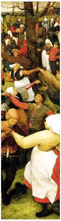 bruegel_1566_la_danse_de_mariage_musique_chanson_festive_ancienne_moyen-age_tardif_renaissance