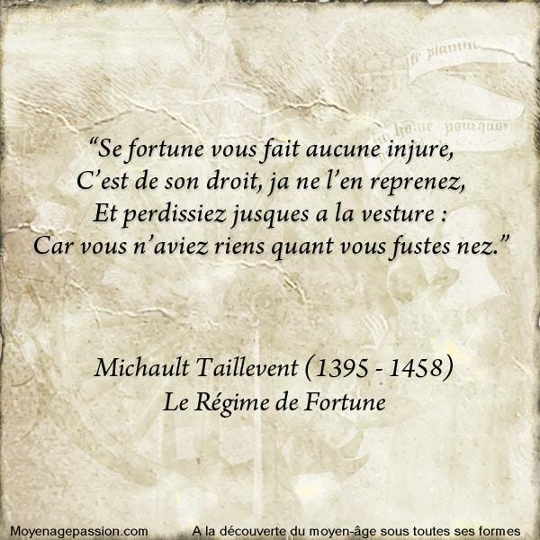 michault_taillevent_caron_fortune_ballade_poesie_medievale_bourguigne_moyen-age_XVe