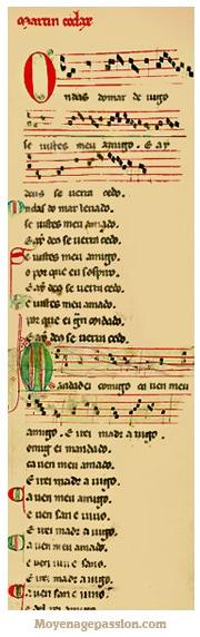 parchemin_vindel_troubadour_chanson_poesie_medieval_martin_codax_moyen-age_central_XIIIe