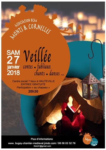 agenda_soiree_sortie_2018_bugey_veillees_contes_fabliaux_monde_medieval_bugey_montcornelles_bugey
