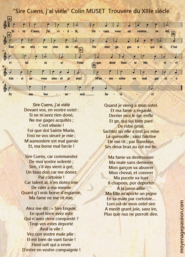 colin_muset_trouvere_XIIIe_poesie_chanson_musique_medievale_XIIIe_siecle_moyen-age