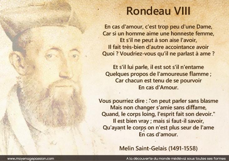 melin_saint_gelais_rondeau_poesie_renaissance_XVIe