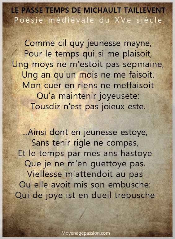 michault_taillevent_caron_passe_temps_poesie_litterature_medievale_moyen-age_tardif