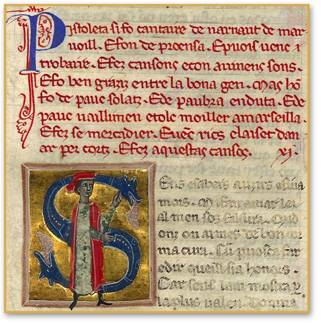 pistoleta_troubadour_chanson_poesie_medievale_chansonnier_provencal_manuscrit_ancien_bnd_ms_12473_moyen-age_central_XIIIe