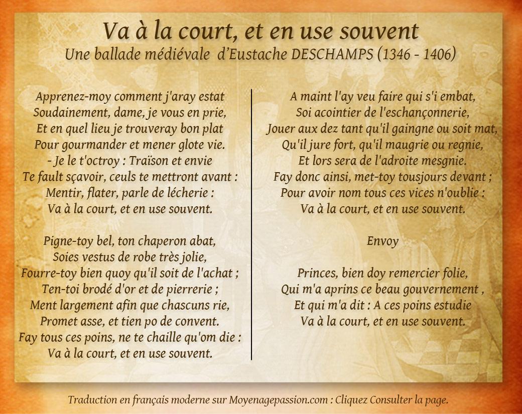 eustache_deschamps_poesie_satirique_medievale_ballade_litterature_moyen-age_vie_curiale