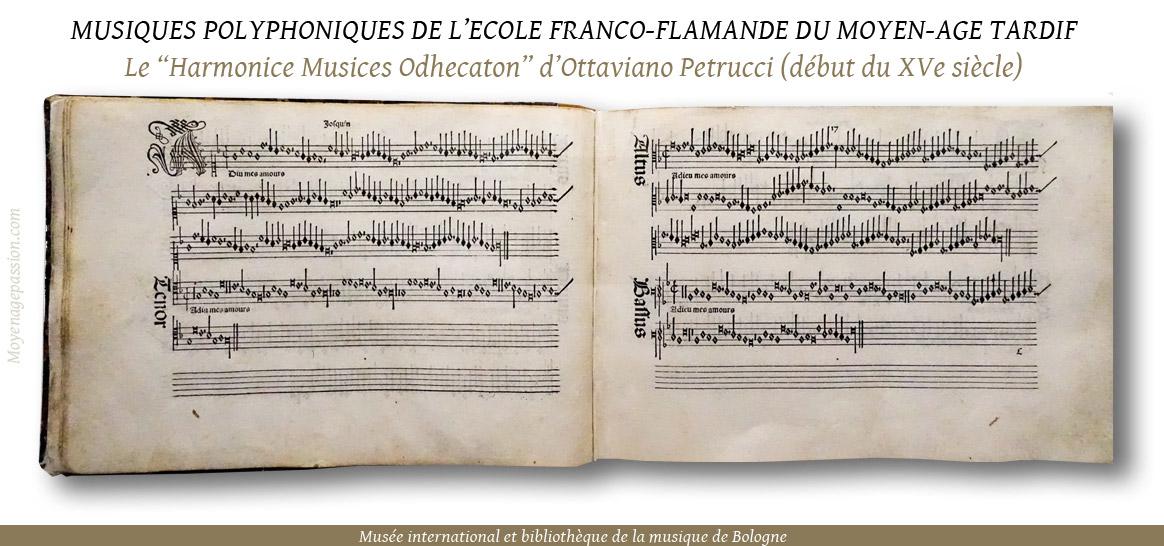 musiques_chansons_polyphoniques_medievales_ecole_franco_flamande_petrucci_XVe_moyen-age_tardif