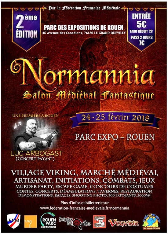 normannia_2018_rouen_agenda_salon_evenement_animations_medieval_fantastique_normandie