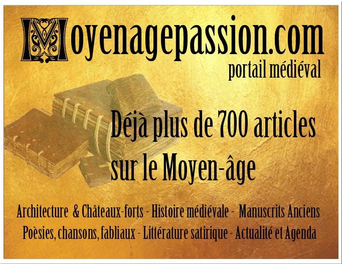 portail_passion_moyen-age_litterature_chansons_histoire_architecture_actualite_medievale