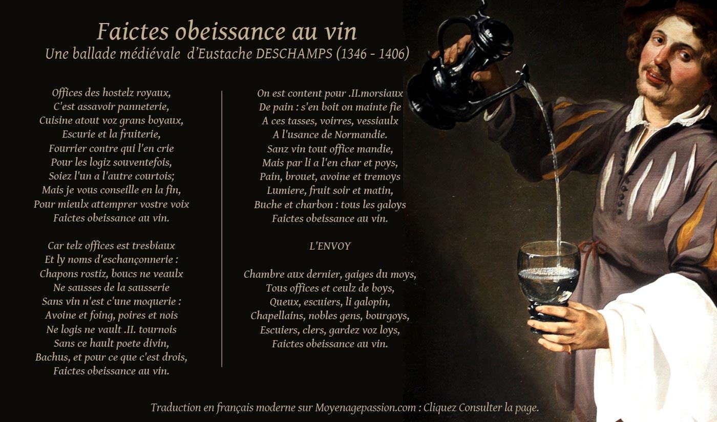 eustache_deschamps_poesie_ballade_medievale_litterature_moyen-age_bachus_vin