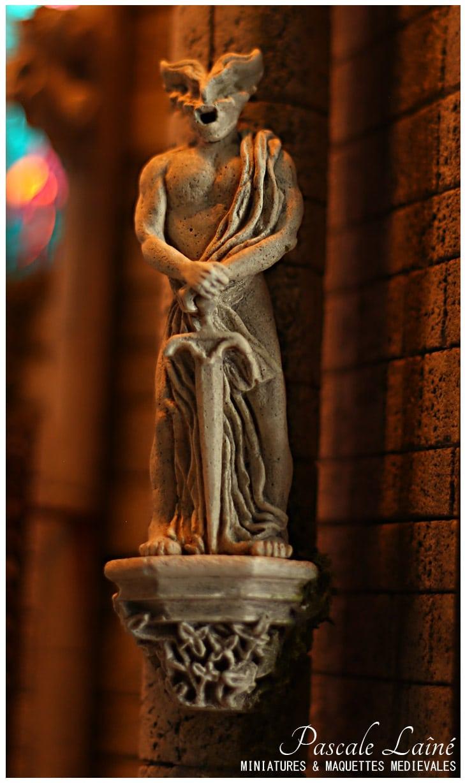 fee_melusine_batisseurs_mythologie_litterature_medievale_art_gothique_maquettes_miniatures_Pascale_Laine_moyen-age
