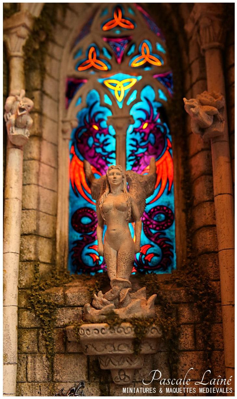 fee_melusine_batisseurs_mythologie_litterature_medievale_art_maquettes_miniatures_Pascale_Laine_moyen-age