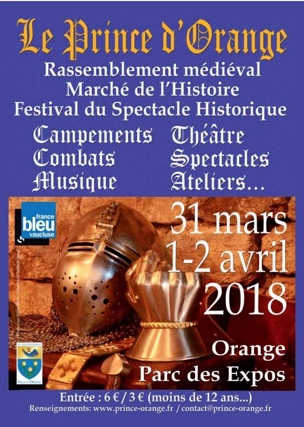 fetes_animations_medievale_prince_orange_2018_festival_historique_rassemblement_reconstituteurs_moyen-age