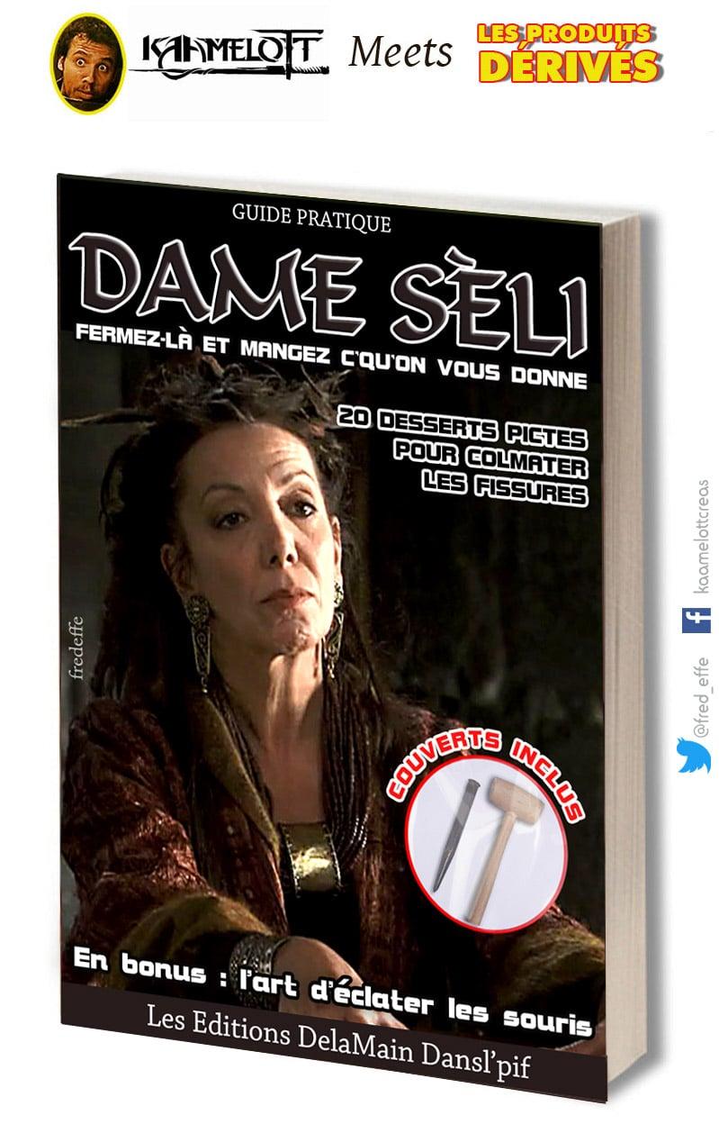 kaamelott_serie_televisee_culte_livre_dame_seli_joelle_-sevilla_alexandre_astier_humour_detournement