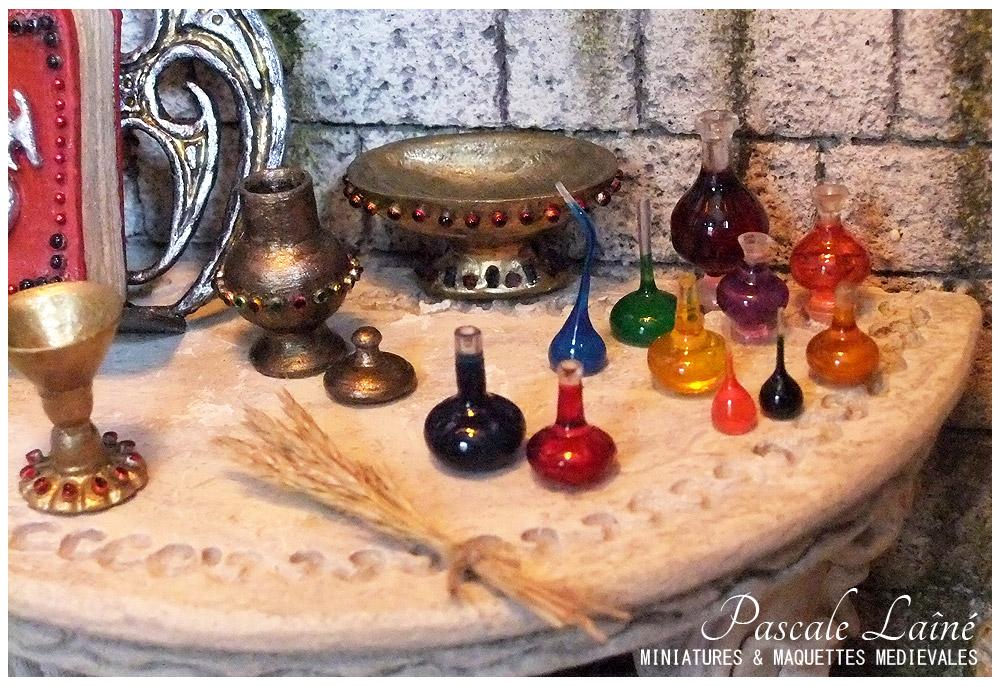 melusine_litterature_art_maquettes_miniatures_medievale_Pascale_Laine_moyen-age