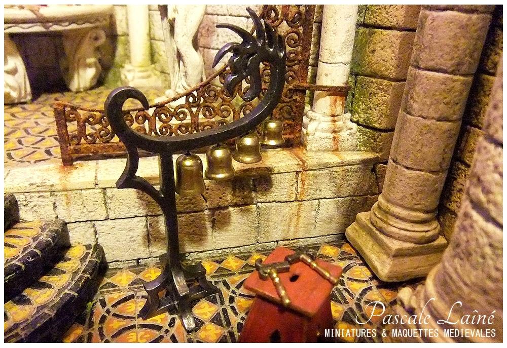 melusine_maquettes_medievales_miniatures_Pascale_Laine_moyen-age_fantastique