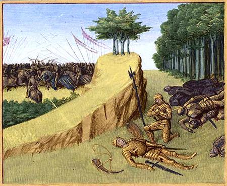 mort_de_roland_roncevaux_legendes_charlemagne_moyen-age_central_manuscrit_ancien_enluminures