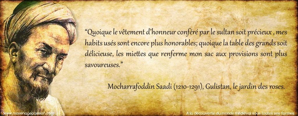 citations_sagesse_medievale_persane_Saadi_servitude_liberte_conte_poesie_moral