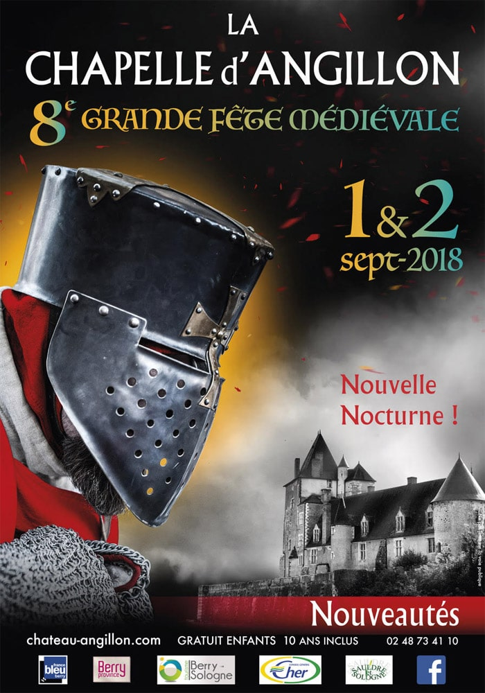 fetes_animations_medievales_2018_chateau_chapelle_angillon_patrimoine_historique