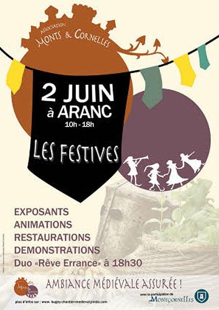 agenda_evenement_moyen-age_fetes_animations_medievales_chateau_aranc_Montcornelles_ain