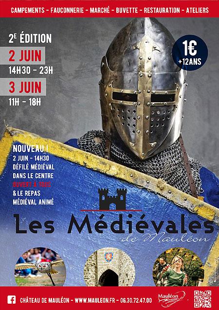 agenda_evenement_moyen-age_fetes_animations_medievales_chateau_mauleon_Pyrénées-Atlantiques