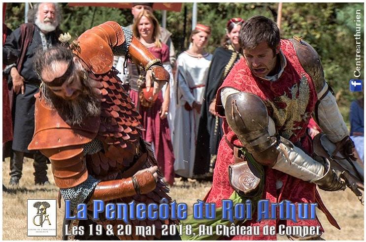 agenda_fetes_compagnies_medievales_moyen-age_festif_pentecote_legendes_arthuriennes_chevaliers_table_ronde_bretagne