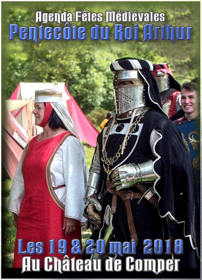 agenda_fetes_medievales_pentecotre_roi_arthur_bretagne_legendes_arthuriennes