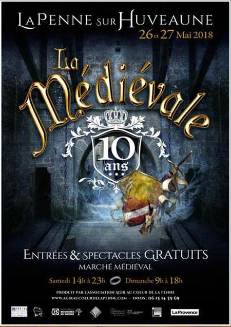 agenda_la-Penne-sur_Huveaune_animations_marche_spectacle_médiévale
