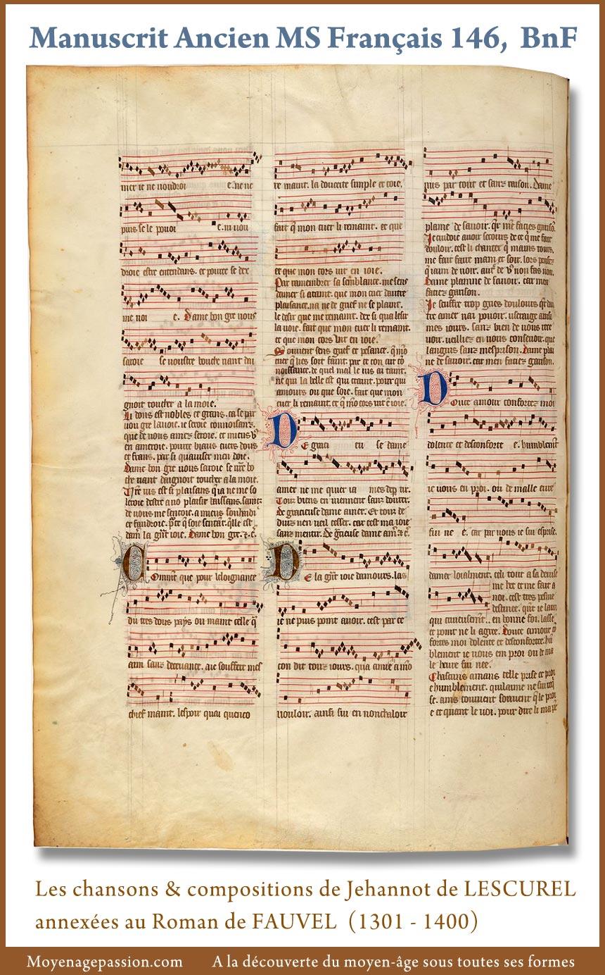 chanson_musique_poesie_medievale_jehannot_de_lescurel_manuscrit_ancien_bnf_francais_146