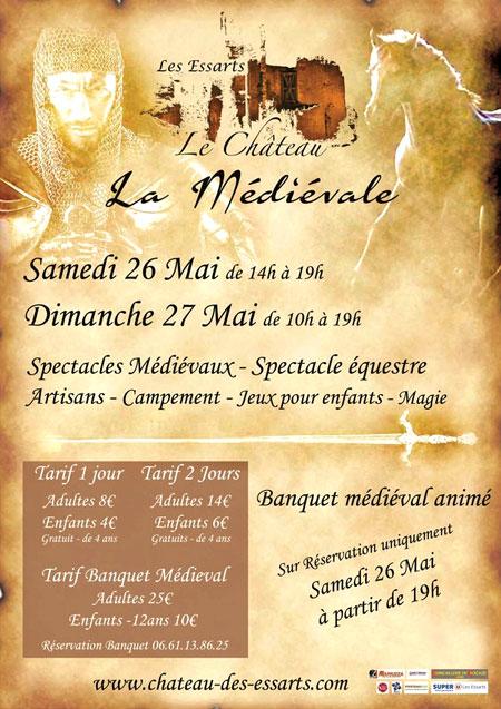 chateau_les_essarts_fetes_medievales_animations_campement_banquet_moyen-age_festif