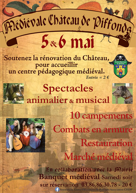 fetes_medievale_animations_compagnies_camps_medievaux_chateau_piffonds_bourgogne_franche_comte