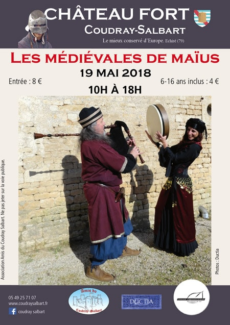 medievales_maius_chateau-fort_coudray-salbart_fetes_animations_moyen-age_echire_Nouvelle-Aquitaine