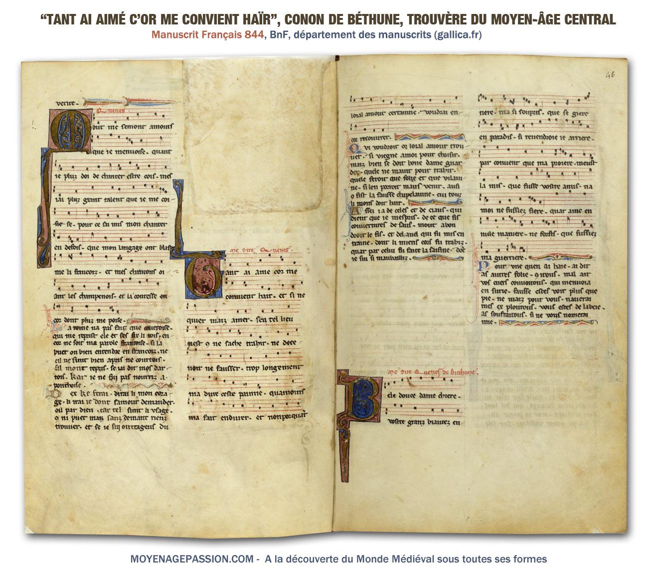 musique_poesie_chanson_medievale_trouvere_conon_de_bethune_manuscrit_francais_844_bnf_moyen-age
