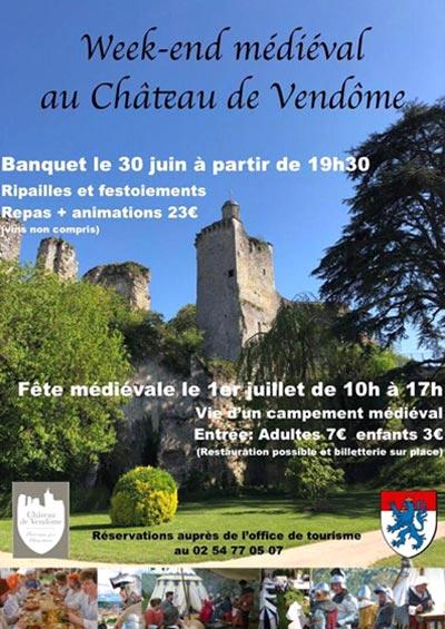 agenda_fetes_historiques_animations_medievales_reconstituteurs_chateau_vendome_centre-vak-de-loire