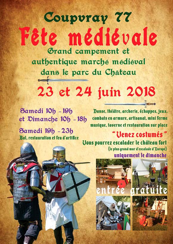 agenda_les_medievales_de_Coupvray_seine-et-marne_animations_campement_marche_medieval