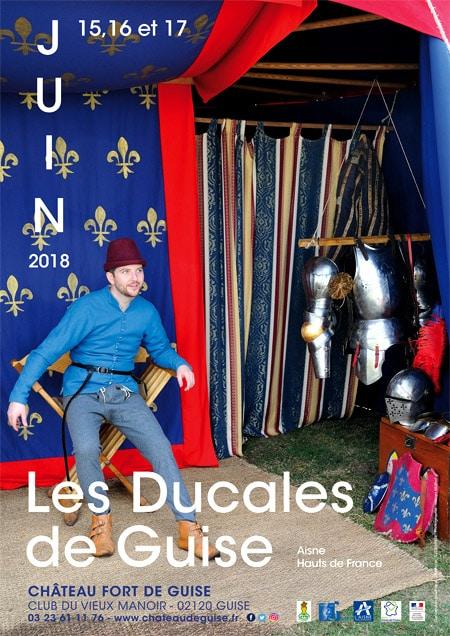 agenda_medieval_fetes_animations_moyen-age_chateau-fort_Guise_Ducales_Hauts-de-France
