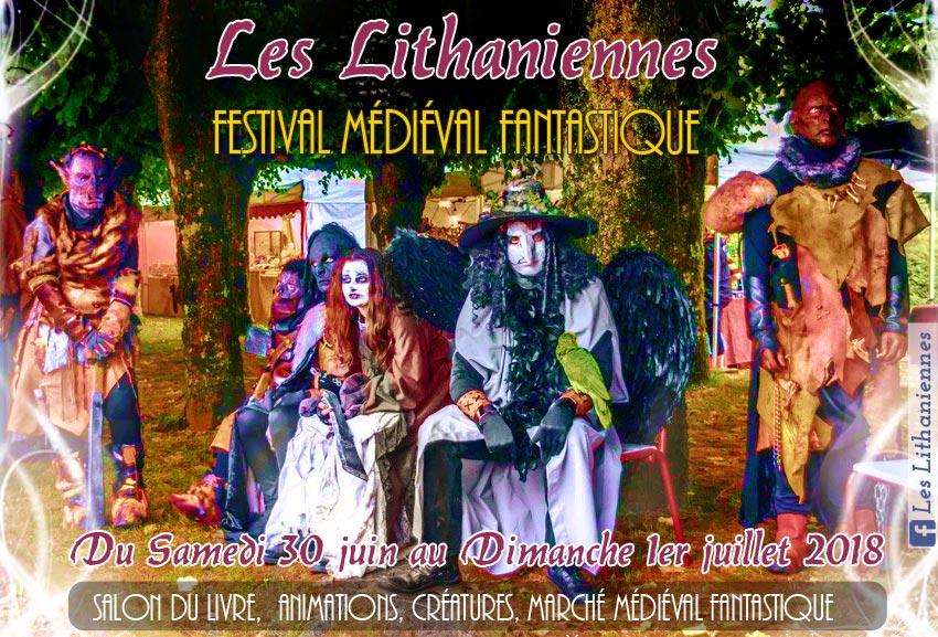 festival_fetes_marche_medieval_litterature_fantastique_salon_du_livre_les_lithaniennes_bourgogne