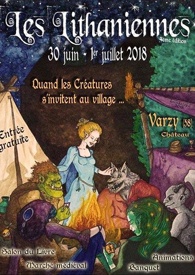 festival_medieval_salon_du_livre_nievre_chateau_de_varzy_lithaniennes_2018