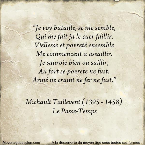 litterature_poesie_medievale_michault_taillevent_passe-temps_moyen-age