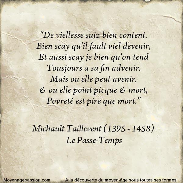 michault_caron_taillevent_litterature_poesie_medievale_moyen-age_XVe-siecle