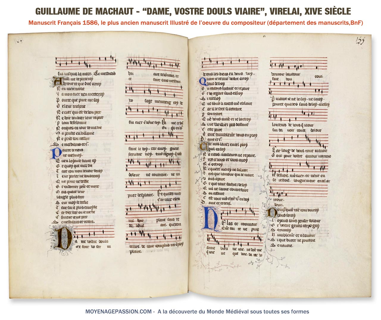 MS Françai 1586, Bnf, Départements des manuscrits (consultez le ici)