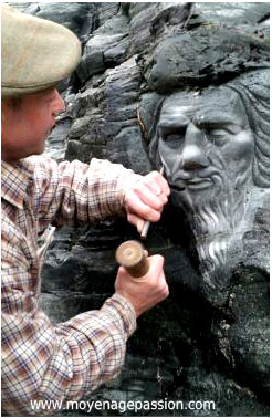 tintagel_chateau_site_archeologique_sculpture_merlin_legendes_arthuriennes
