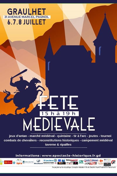 agenda_animations_fetes_medievales_2018_graulhet_occitanie