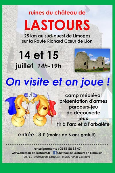 chateau_Rilhac_lastours_animations_camp_medieval_nouvelle_aquitaine