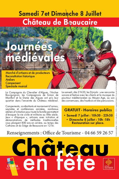 chateau_beaucaire_journee_animations_medievales_fete_moyen-age_festif