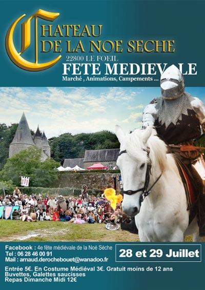fete_animation_marche_medievale_chateau_noe_seche_bretagne